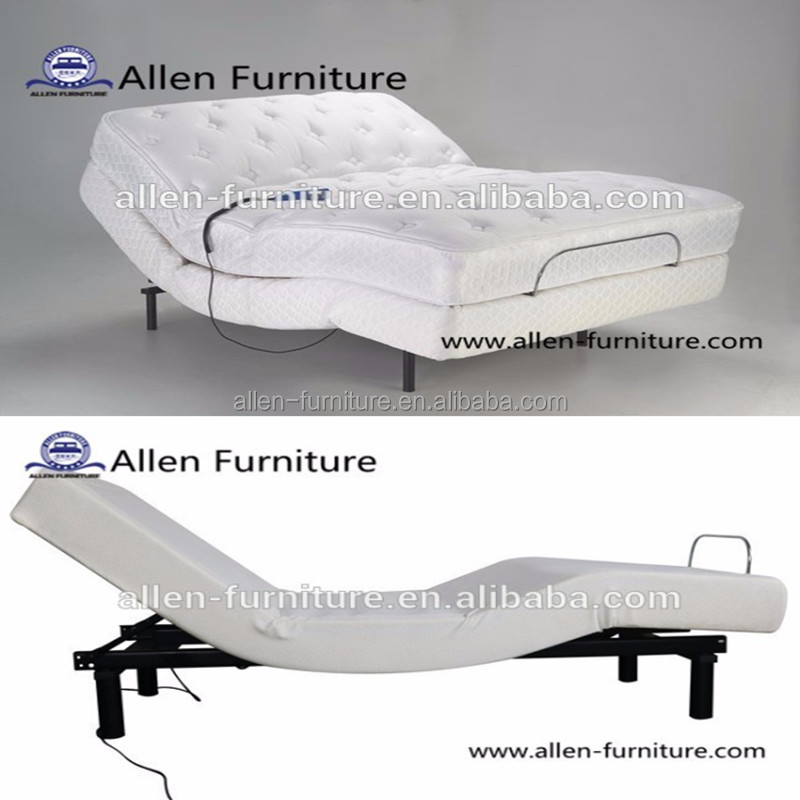 Wholesale adjustable sleeping bed with mattress or box spring
