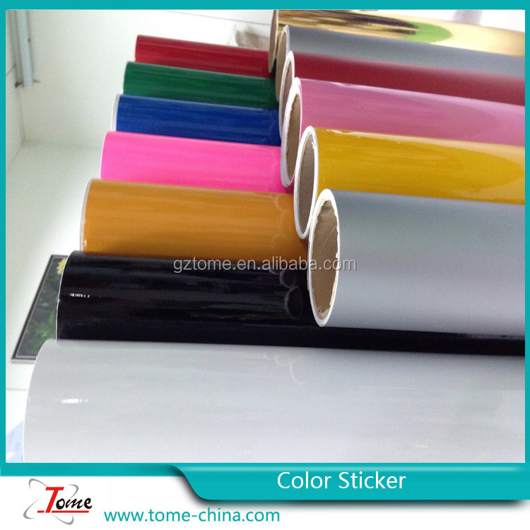 fluorescent color vinyl/vinyl siding colors/vinyl sticker color
