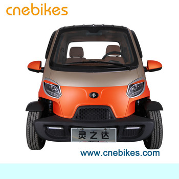 4 wheels EEC approved 2 seats electric mini car remote controlled