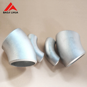 Hot sale gr2 titanium bent pipe fitting