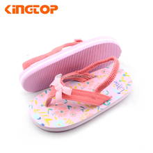 Latest Design Eva Slipper Child Sandal For Kid Girl 2017