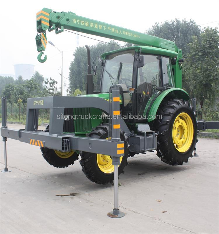 Tractor Hydraulic Boom Crane : Small tractor mounted ton mini crane