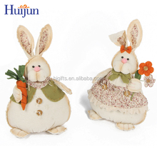 2017 Latest design children cloth bunny doll festive small gift items