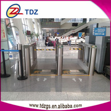 entrance and exit gate turnstile swing barrier industrial swing arm
