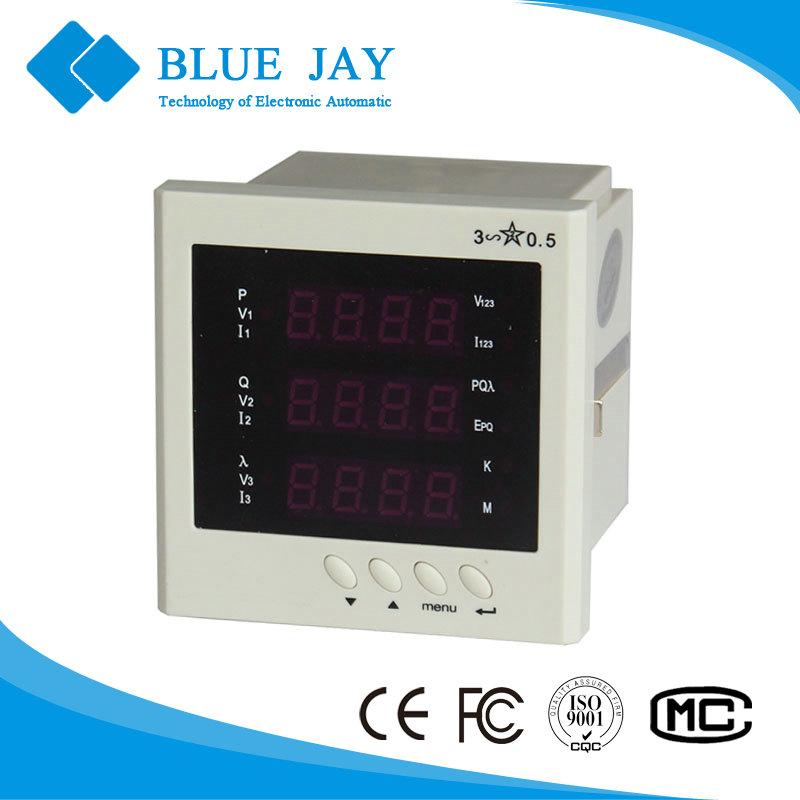 Multifunction Panel Meter : E s led multifunction panel meter v active