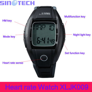 Multifunctional Digital Strapless Heart Rate Monitor Watch XJLK008