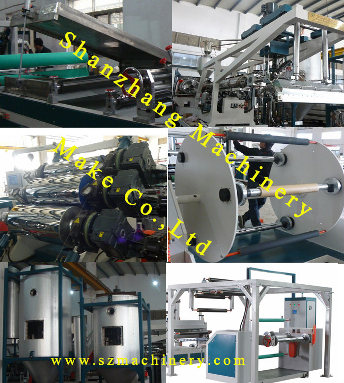 Plastic Extrusion Line,APET Sheet Extrusion,Single Layer Extrusion,Total Power 280kw