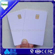 IC contact smart card SLE4442 SLE5542 for hotel key