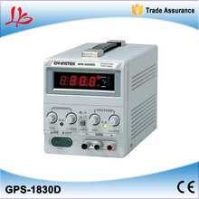 single output, 54W, 18v, 3A, linear DC power supply GPS-1830D