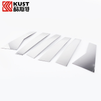 KUST Stainless Steel Car Window Pillar Trim For CRV 2015 Exterior Accessories Window Column Trim Cover For Honda For CRV 2015