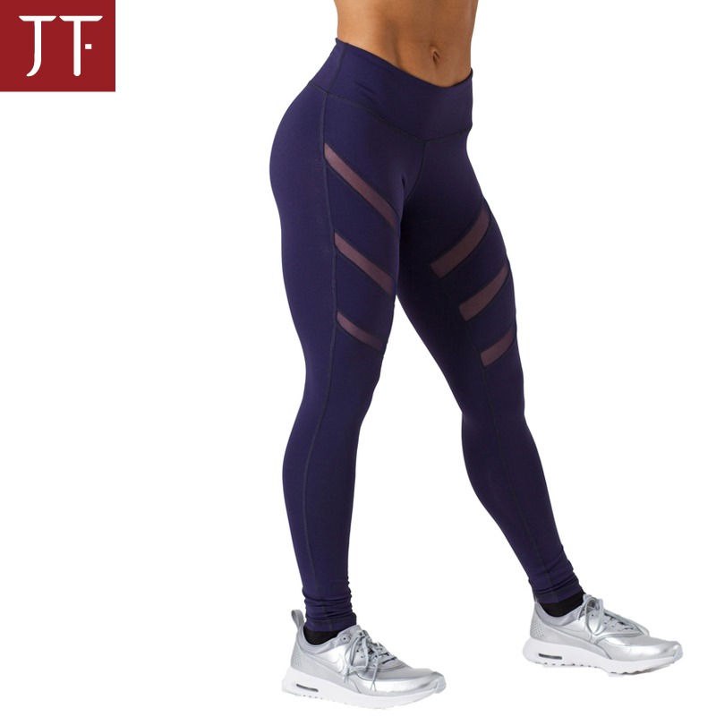 Custom made women spandex sport leggings workout fitness compression tight yoga pants forwomen