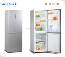 Home appliance double doors best design refrigerator