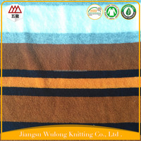 Hot Sale Polyester / Cotton Yarn Dyed Stripe Terry Cloth Fabric