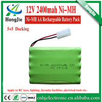 nimh batteries power 12v aa 2400mah rechargeable batteries NiMH AA pack