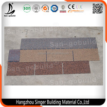 Chinese Roof Tile Colored Asphalt Fiberglass Roof Shingles 3 tab Asphalt Shingle