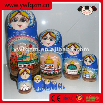Wholesale Cheap Wood Painted Doll