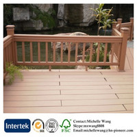 Weather resistant High quality Cheap Price WPC Decking, wood plastic composite, WPC floor board