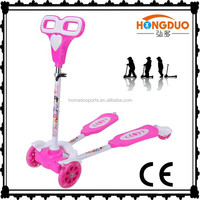 High Quality PU wheel flicker frog scooter