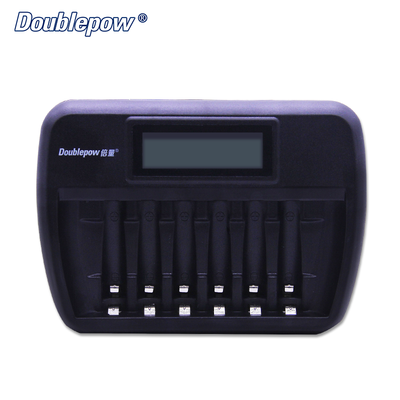 6 Slots K66 LCD Intelligent Rapid Cell Charger for 1.2V AA/AAA Ni-MH/Ni-CD Rechargeable Battery