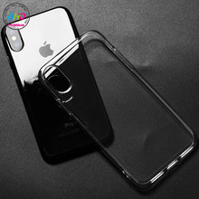 BHD newest model mobile protective cover wholesale cell phone tpu transparent case for iphone 8