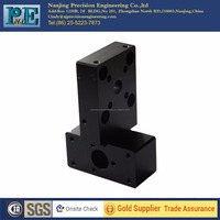 precision black coating square steel cnc milling machining mold base