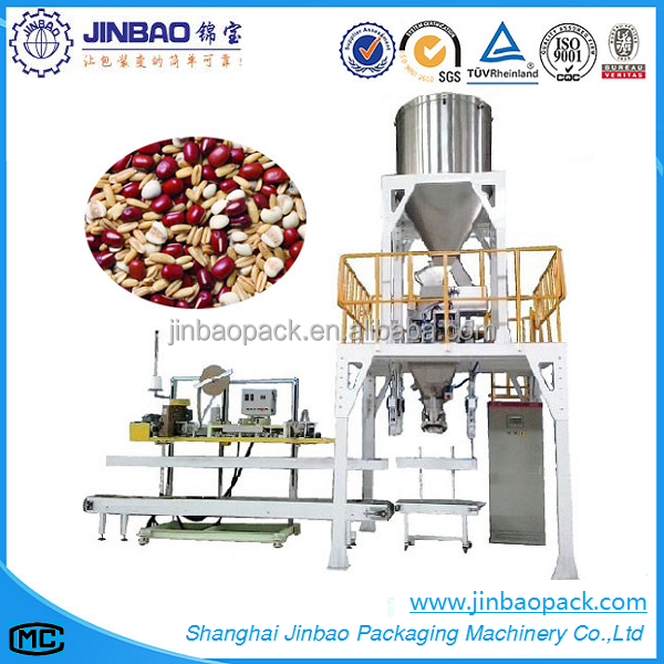 Automatic cereals particles packing machine