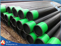 API 5l grade x42 schedule 40 wall thickness black erw carbon steel pipe