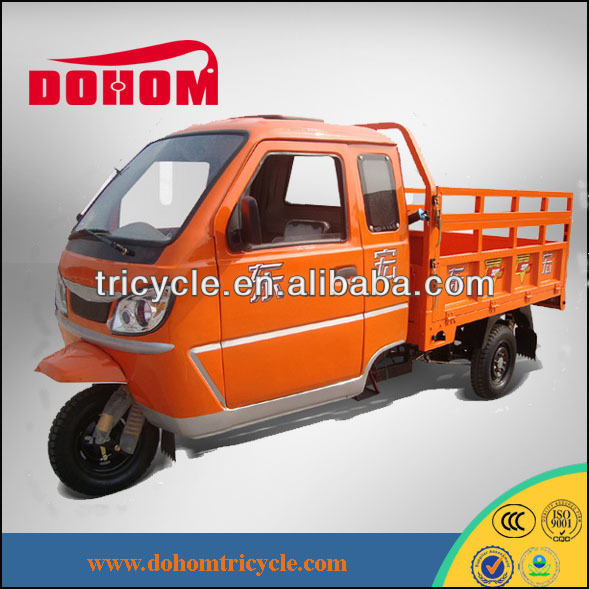 250CC cabin cargo 3 wheel motorcycles with Loncin motorcycle engine