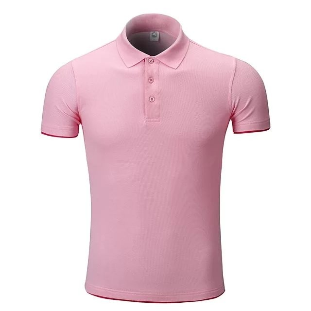 cheap high quality customized polo t shirt for man