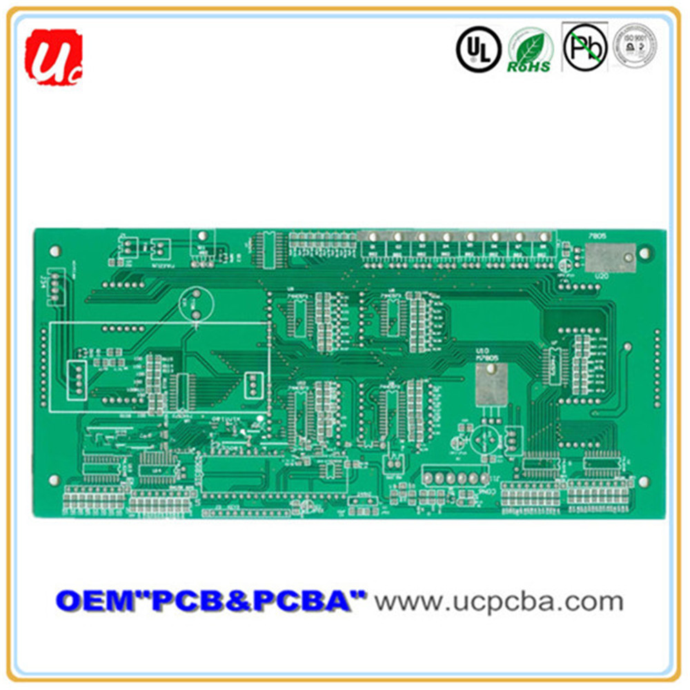Hot Selling AAA Quality OEM 2-layer Molded PCB Printed Circuit Board With Large Capacity