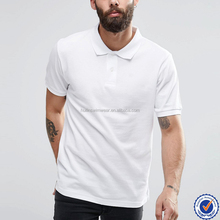 100% cotton high quality wholesale bulk plain white polo shirts for men