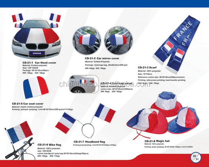 WM 2018 france pirate hat french bandana