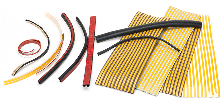 OEM hot sale new product self-adhesive rubber seal, airtight rubber sealing strip, windshield rubber seal