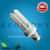 2013 New High Brightness CE approved 4U ESL GLASS Energy Saving Lamp ( CE&RoHS )
