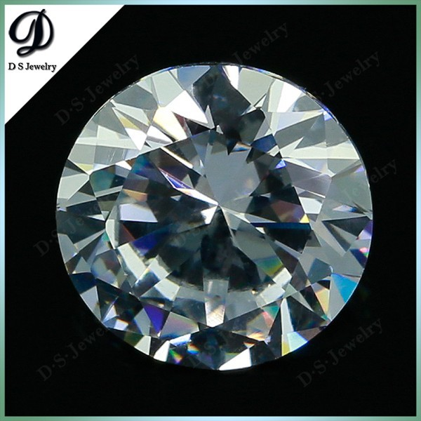 Cubic Zirconia Loose Round Cubic zirconia Thick 5.00 MM/ 0.05 Ct Diamond Weight Super & Super Quality Clear White Color