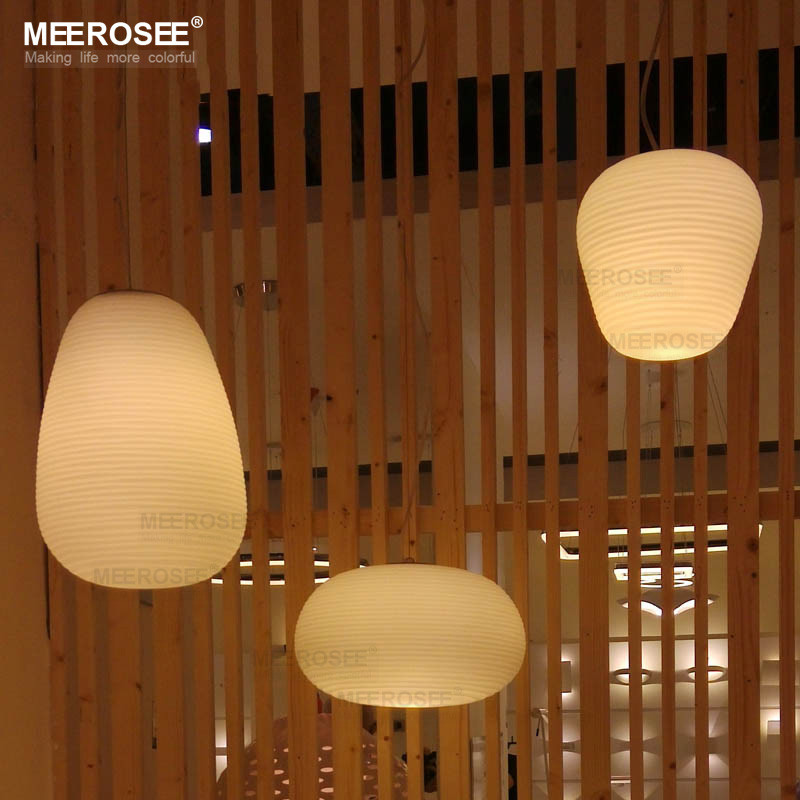 3 Light Pendant Fixture Glass Pendant Lights Hanging Ceiling Lamp for Kitchen Island MD81991