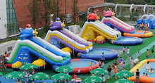 children outdoor inflatable,hupfburg rutsche gross,customized purple dolphin 2 lanes inflatable slides for rent