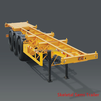40ft Container Skeleton Semi Trailer