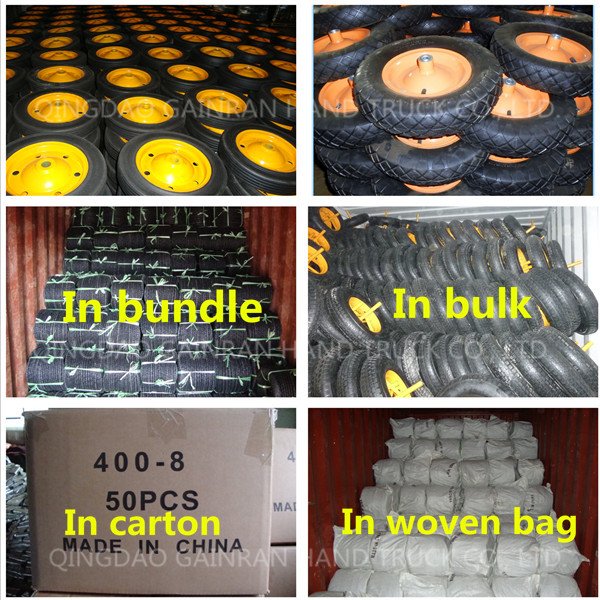 164.00-8 tire and inner tube 16x4.00-8 inflatable wheel barrow tire 16x4.00/8 rubber tire