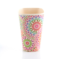 Unbreakable Happy Life Durable Design Coffee Cup Without Handle