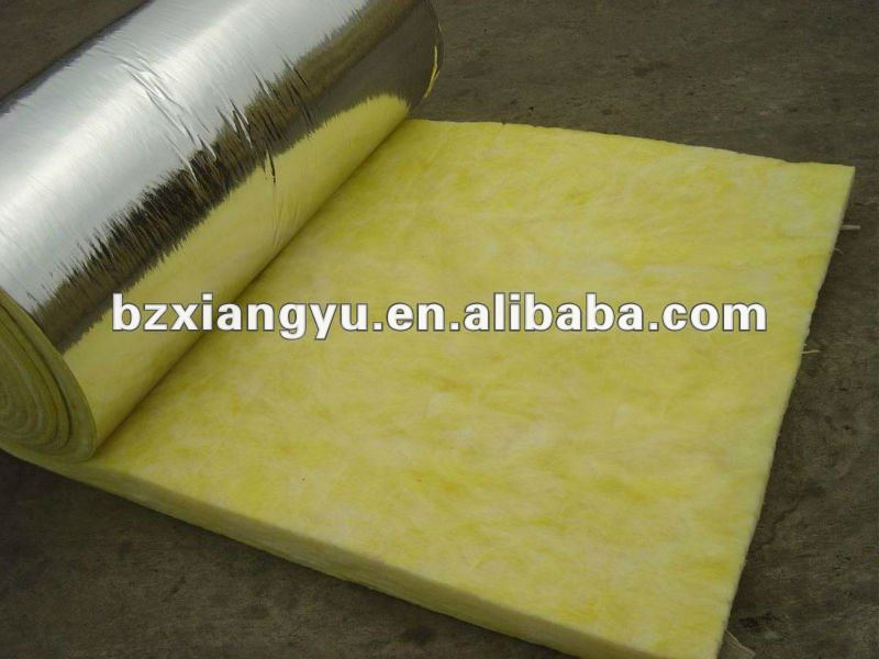 high quality heat construction insulation glasswool blanket