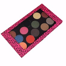 Private Label Make Up Cosmetics Pressed Glitter Eyeshadow Palette