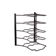 5 tier Cookware Rack Frying Pan Sorter Pan Organizer Rack