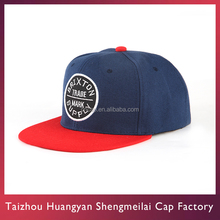 Factory Sales Custom Flat Bill Hip Hop Snapback Hat And Cap