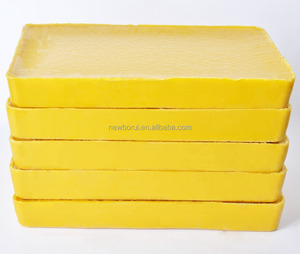Yellow and White Beeswax Slabs or Pellets, for making candle, cosmetics and polishing wax