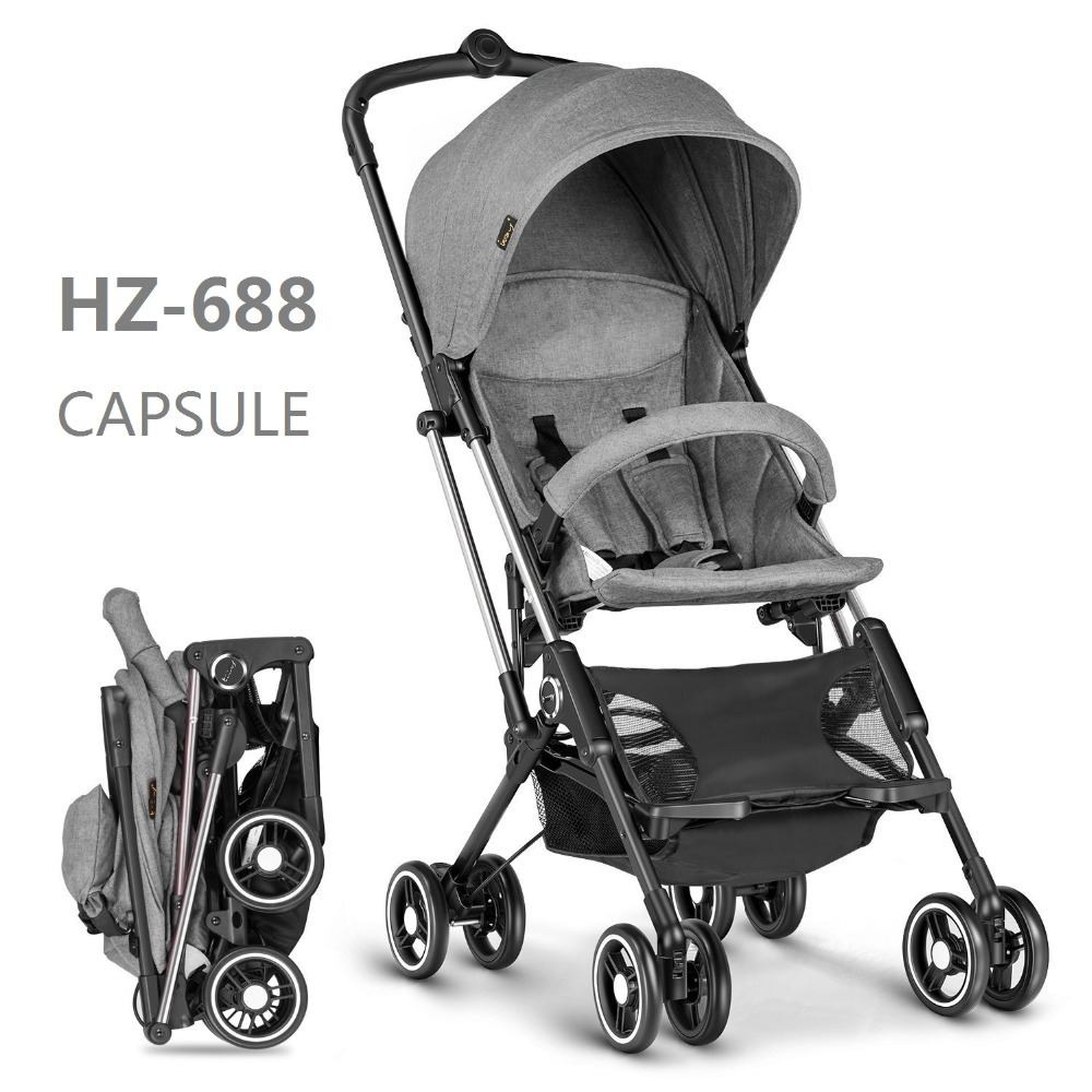 2017 extremely light weigh and small folding size baby stroller