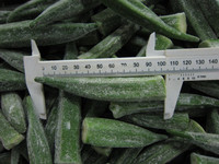 chinese frozen nice/healthy/lowest price yellow okra