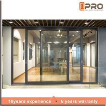 New products hardware automatic aluminium roller glass lock sliding door