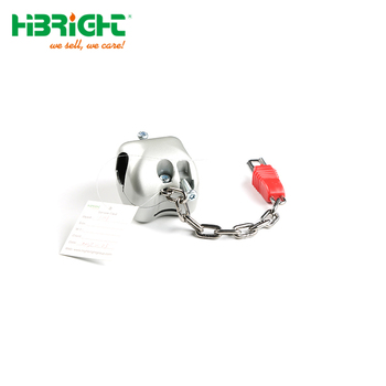 Zinc Alloy Handle Coin Lock for Shopping Trolley Cart