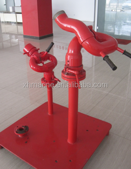 fire fighting products fire monitor 600-1800m3/h ABS certification